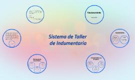 Sistema de Taller de Indumentaria.