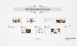 THE HISTORY OF PIANO