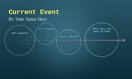 Copie de Current Event