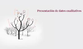Copy of Presentación de datos cualitativos