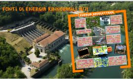 ENERGIA IDROELETTRICA (FONTI RINNOVABILI 1di7)