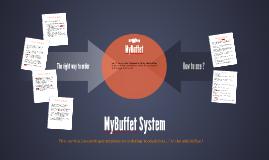 MyBuffet System