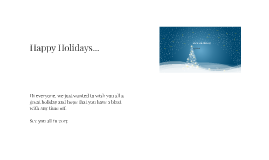 Copy of Holiday Card