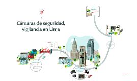 Cámaras de seguridad, vigilancia en Lima