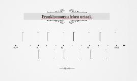Frankismoaren lehen urteak