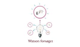 Watson forsøget
