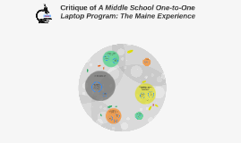 Critique of A Middle School One-to-One Laptop Program: The M