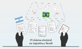 El Sistema Electoral en Argentina y Brasil