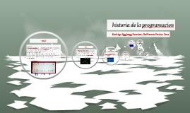 historia de la programacion