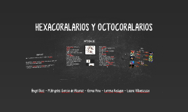 Copy of Diferencias Hexacoralarios y Octocoralarios