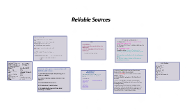 Copy of Reliable Sources