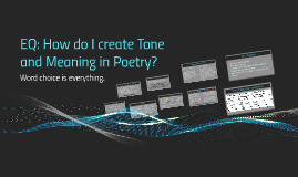 Tone and Meaning