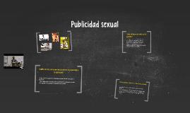 Publicidad sexual