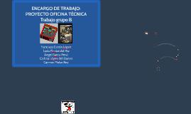 ENCARGO DE TRABAJO: