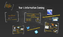 Year 6 Information Evening