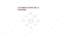 Copy of Copy of LA FAMILIA CUNA DE LA CULTURA