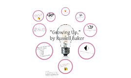 growing up russell baker essay