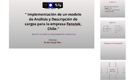 Implementación de un modelo de Análisis y Descripción de car