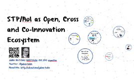 STP as Open, Cross and Co-Innovation Ecosystem