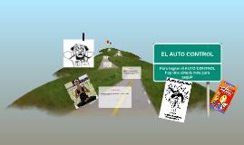 EL AUTO CONTROL