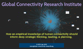 origin, evolution, & trajectory of human connectivity - a webinar
