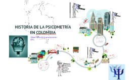 Copy of HISTORIA DE LA PSICOMETRÍA  EN COLOMBIA