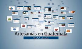 Artesanias en Guatemala
