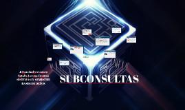 Copy of SUBCONSULTAS