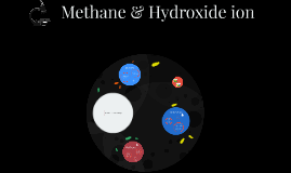 Methane and Hydroxide ion