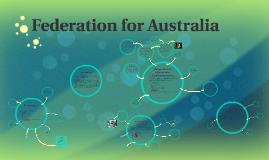 Federation for Australia