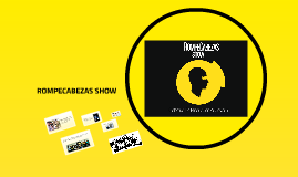 Copy of ROMPECABEZAS SHOW