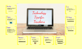 GHC Technology Tips for Teachers