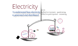 Generating and distributing electricity
