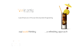 Lean Practices in Product Development Engineering