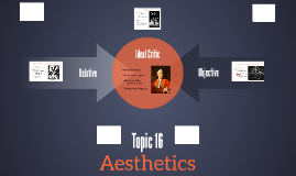 Topic 16: Aesthetics