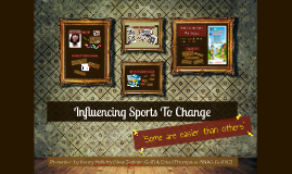 RST Youth Conference 2013 - NZG & SNAGNZ 'Influencing Sports To Change'