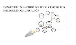 IMAGEN DE UN PARTIDO POLÍTICO Y USO DE LOS MEDIOS DE COMUNIC