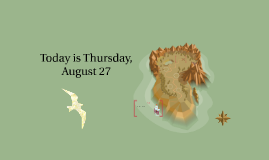 Today is Thursday, August 27