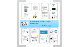Business Skills (C17BS) Lecture 1: Course Introduction