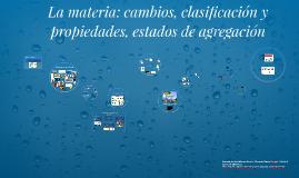 CLASIFICACIÓN DE LA MATERIA Y MÉTODOS DE SEPARACIÓN DE MEZCLAS