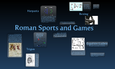 Roman Sports and Games