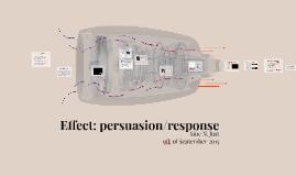 Effect: persuasion/response