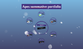 fall summative portfolio presentation