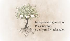 Independent Question Presentation