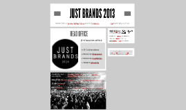 JUST BRANDS 2013 PT