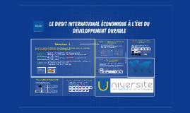 Semaine 1 - Essor du développement durable dans l'idéologie et la pratique onusienne