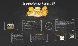 Reunión familias 4 años 2017