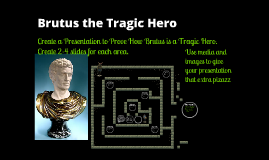 brutus tragic hero Brutus' character is complex, and he is often  brutus is known as a tragic hero  in the play julius caesar because he faces a major conflict.