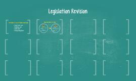 Legislation Revision