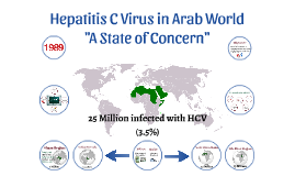 Hepatitis C Virus in Arab World